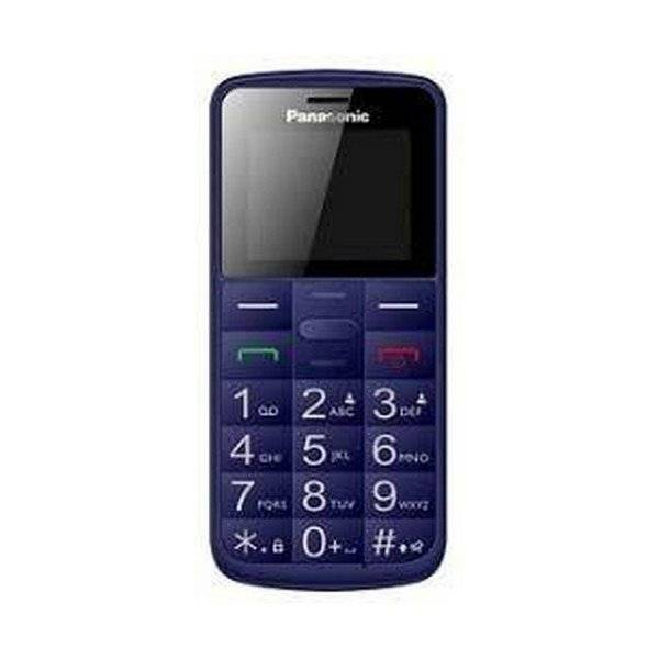 "Panasonic - Mobiltelefon Til ældre - 1,77"" Display - Kx-tu110ex - Blå"