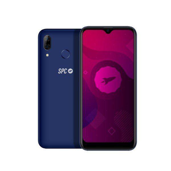 "Spc Gen Plus - Mobiltelefon - 32gb Plads - 6"" Display - Blå"