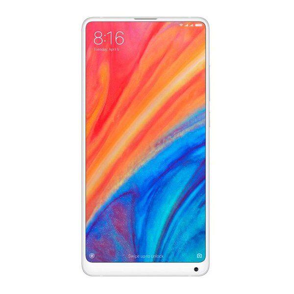 "Xiaomi Mi Mix 2s - 128gb Mobiltelefon - 12mp - 5,99"" - Hvid"
