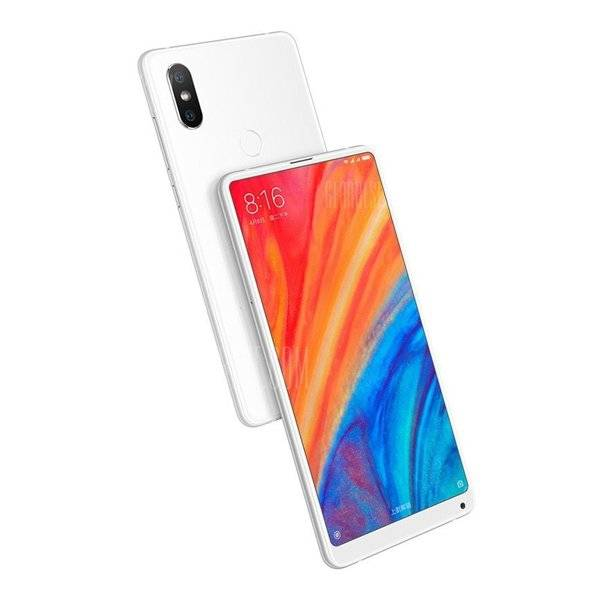 "Xiaomi Mi Mix 2s - 64gb Mobiltelefon - 12mp - 5,99"" - Hvid"