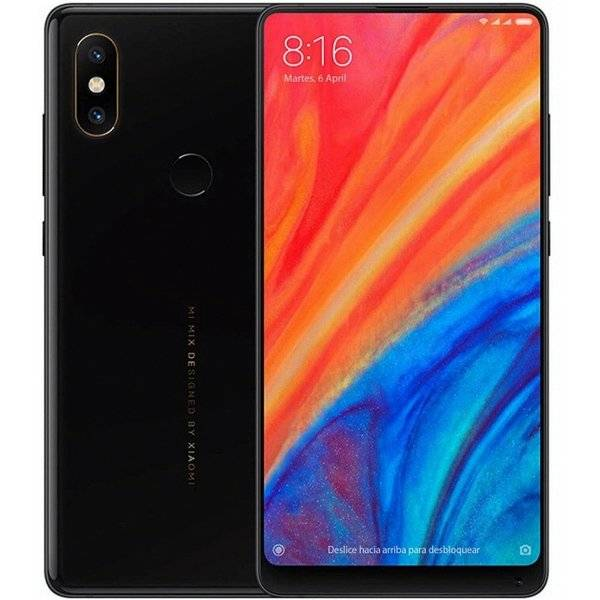 "Xiaomi Mi Mix 2s - 64gb Mobiltelefon - 12mp - 5,99"" - Sort"
