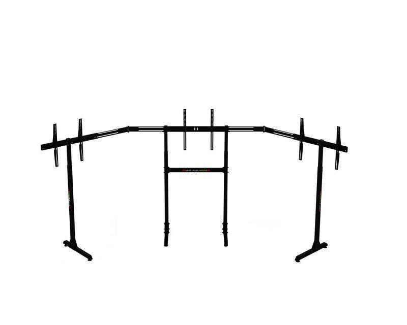 "Next Level Racing - Triple Monitor Stand - 3x65"" Skærme - Maks 70 Kg - Vesa - Sort"