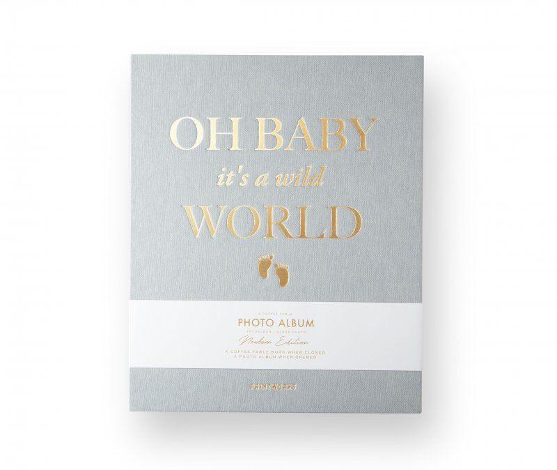 Fotoalbum Til Baby - Baby Its A Wild World