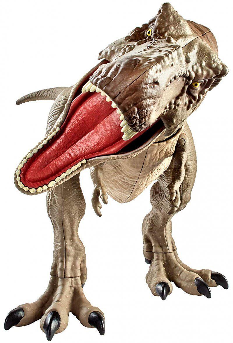 Jurassic World Dinosaur Figur - Bite N' Fight Tyrannosaurus Rex