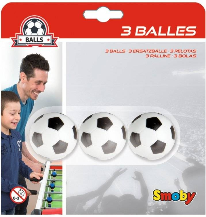 Bordfoldbold Bolde - 3 Stk - Smoby