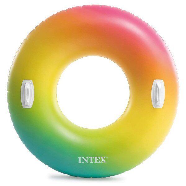 Intex Badering - Regnbuefarvet - 122 Cm