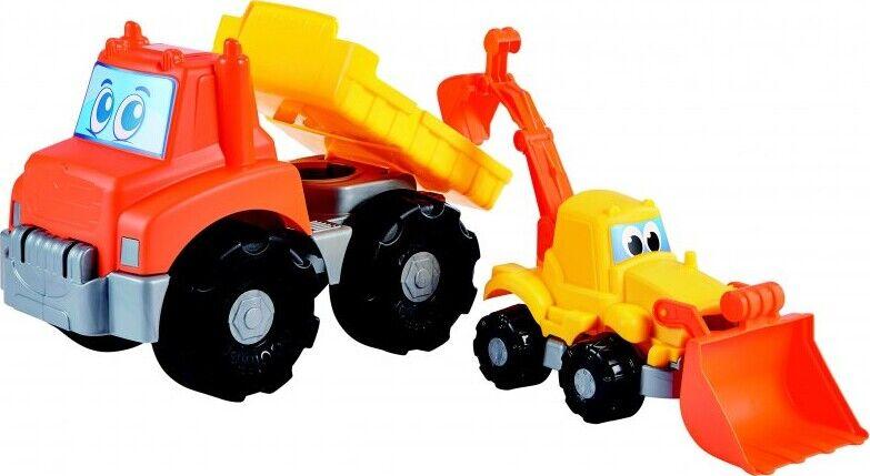 Legetøjs Lastbil Og Traktor