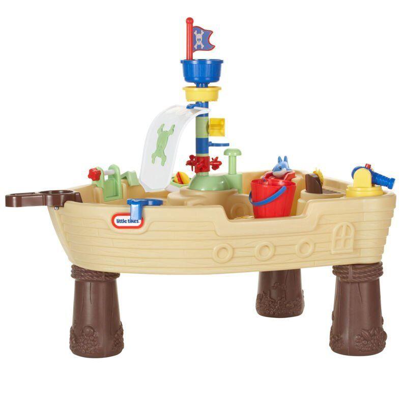 Little Tikes Piratskib Legebord / Vandbord