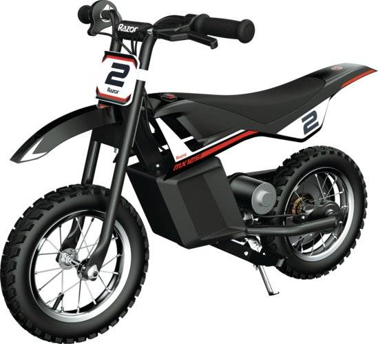 El Dirt Bike Til Børn - Razor Mx125 Rocket - Rød Sort