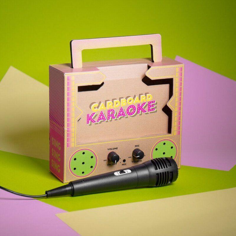 Mini Cardboard Karaoke