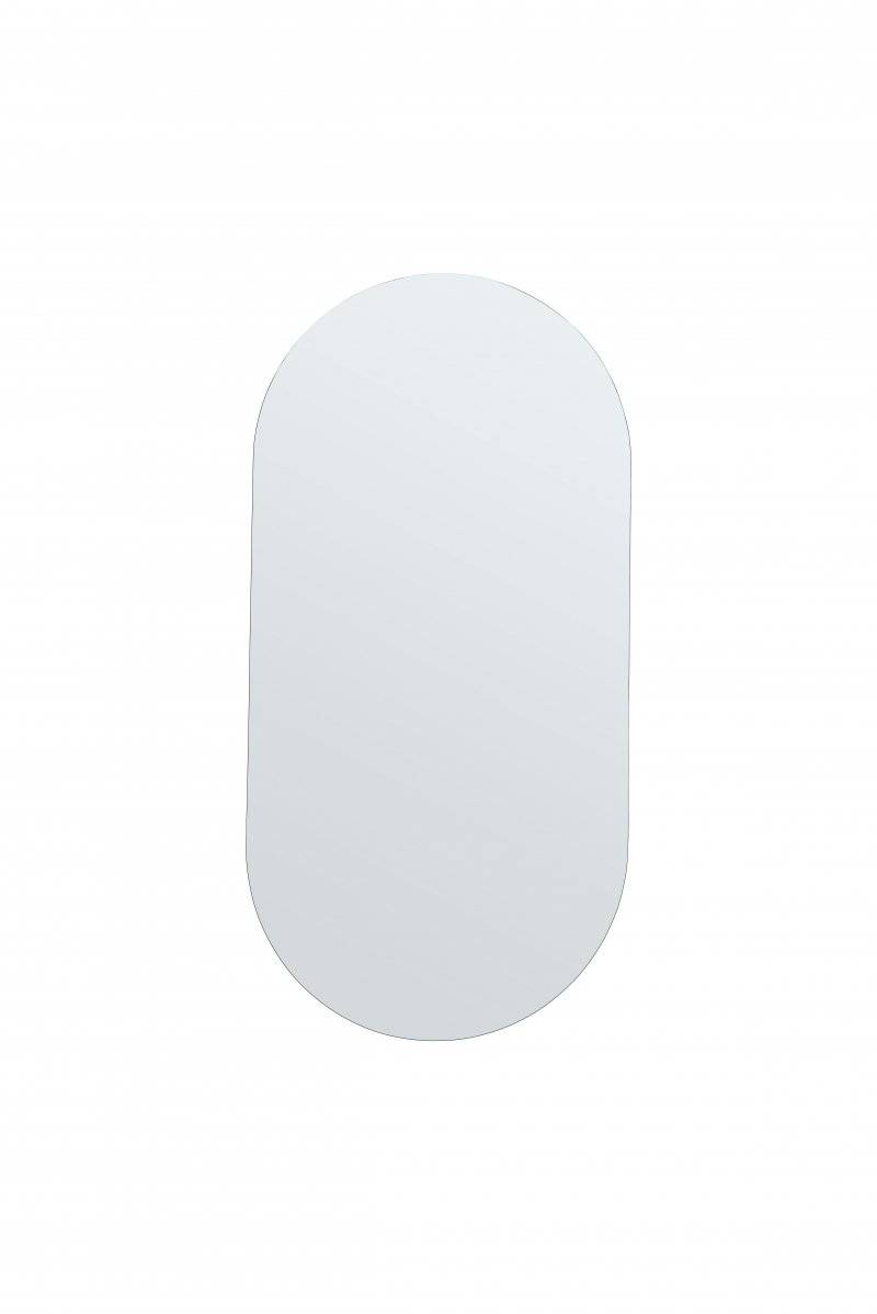 House Doctor - Ovalt Spejl Uden Ramme - Walls - 100 Cm