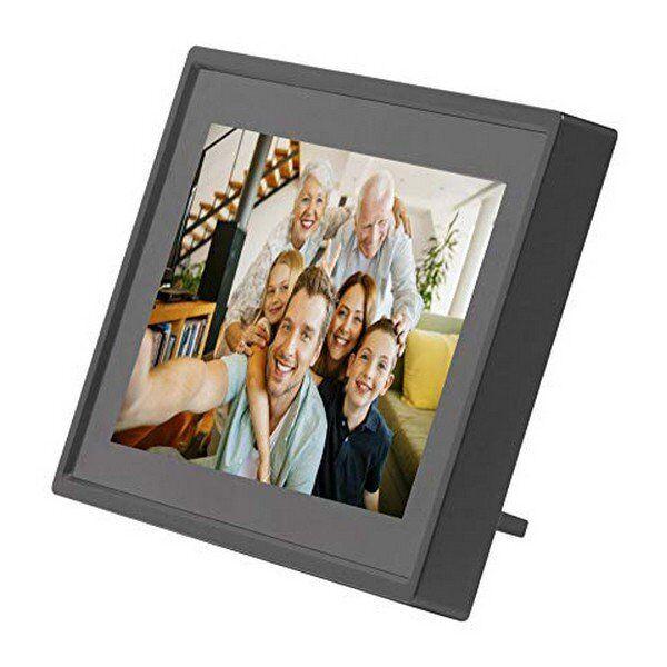 "Digital Fotoramme Inkl. 8gb Micro Sd Og Wifi - 7"" - Usb - Sort"