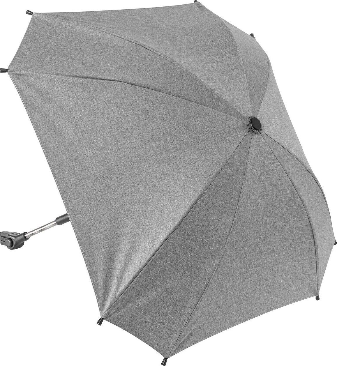 Parasol Til Klapvogn - Grå - Reer