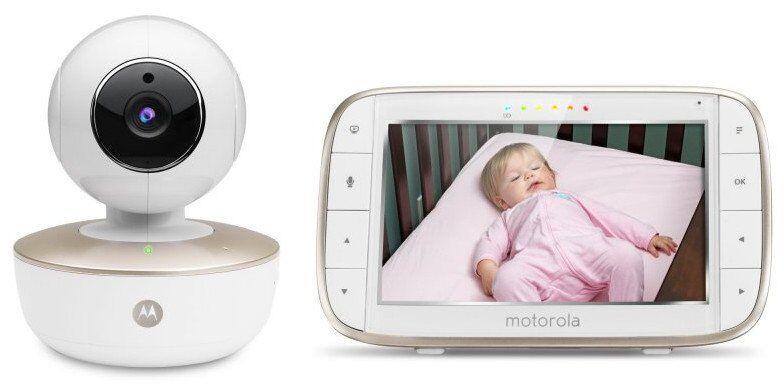 Motorola Mbp 855 Baby Monitor Med Wifi