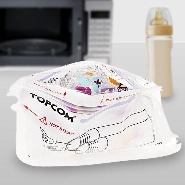 Topcom Flaske Sterilisator Til Mikrobølgeovn