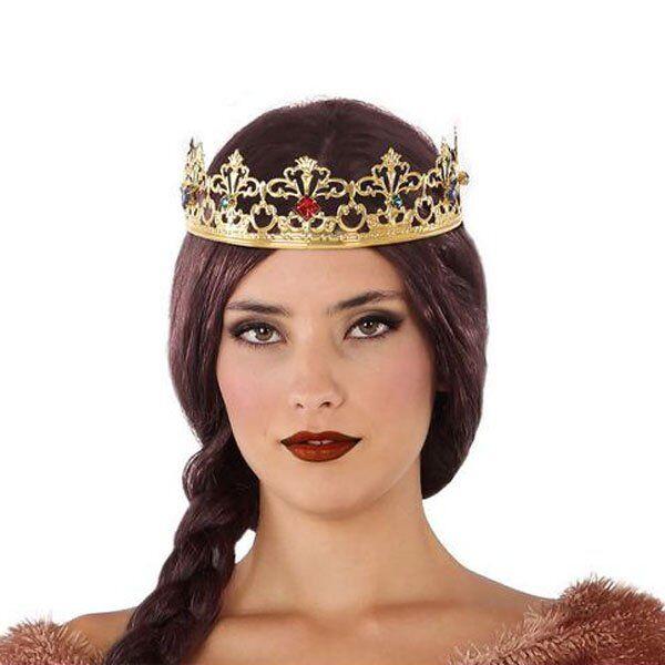 Prinsessekrone Til Udklædning - Guld