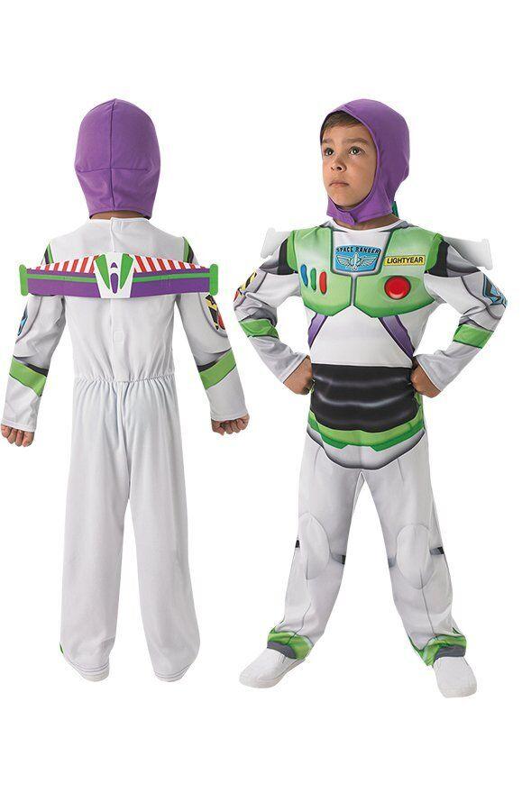 Buzz Lightyear Kostume Udklædning Til Børn - Str. 116
