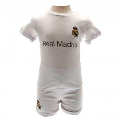 Real Madrid Trøje / T-shirt Og Shorts - 18-23 Mdr - Børnetøj - Array