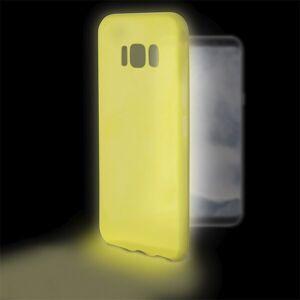 Samsung Galaxy S8 - Cover - Selvlysende - Gul