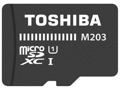 Toshiba M203 - Micro Sd Kort - 64gb Uhs-1 I Class 10