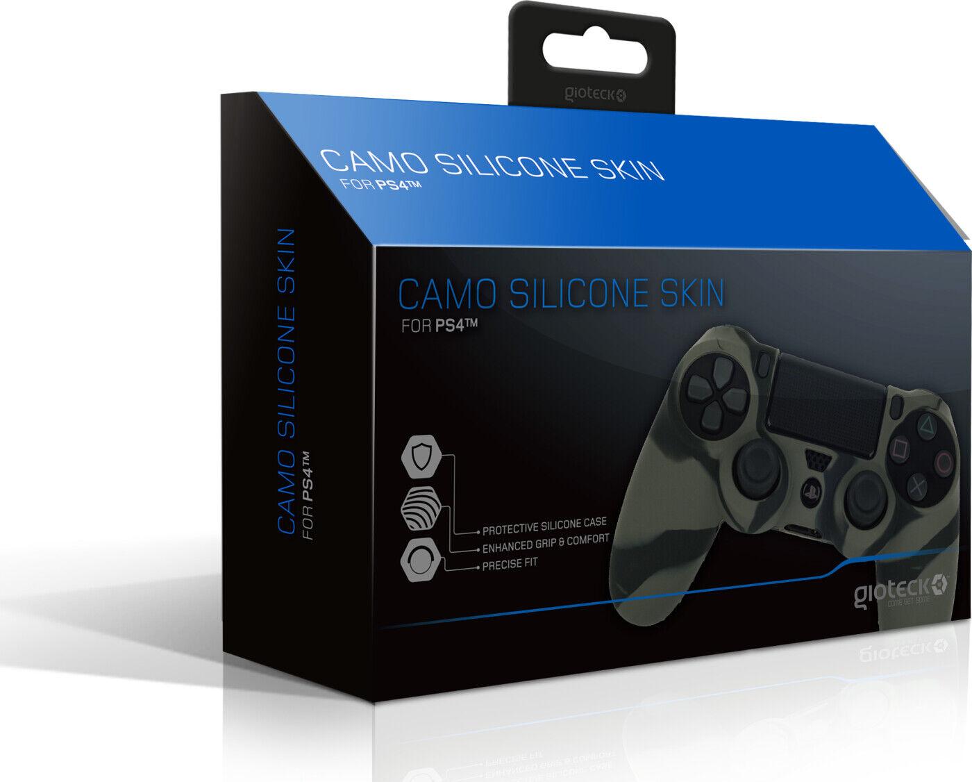 Gioteck - Ps4 Controller Skin - Camo Silicone