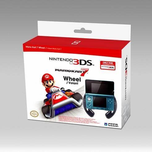 Hori - Mario Kart 7 Racing Wheel Til Nintendo 3ds