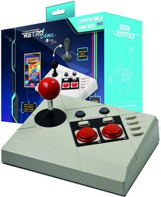 Edge Steelplay Retro Line Edge Gamepad Til Nes Classic Mini Inkl. Cheat Code Book