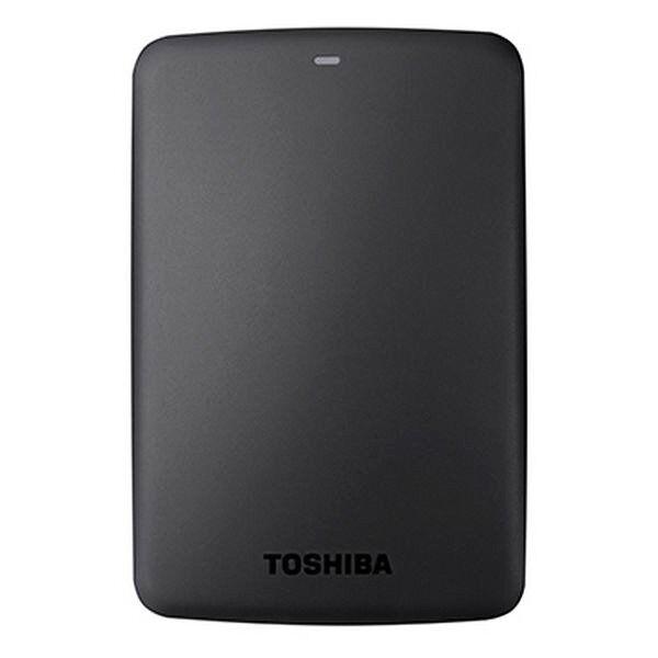 Toshiba 2tb Harddisk I Sort - Canvio Basics Hdtb320ek3ca