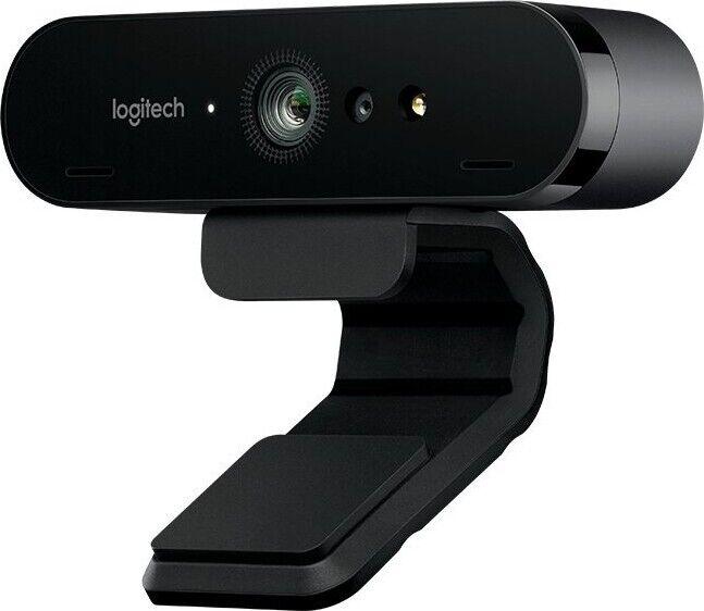 Logitech Brio 4k Ultra Hd Webcam Til Pc - Usb 3.0 - Sort