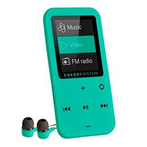 Energy Sistem Mp4-afspiller Med Fm-radio - 8gb - Grøn