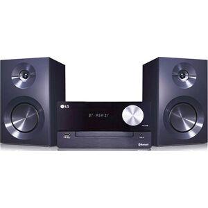 Lg Mini Hifi Stereoanlæg Cm2460 100w - Bluetooth Usb Tv Mp3 Cd Wma