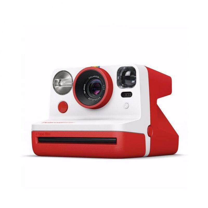 Polaroid Now - Instant Point And Shoot Kamera - Rød