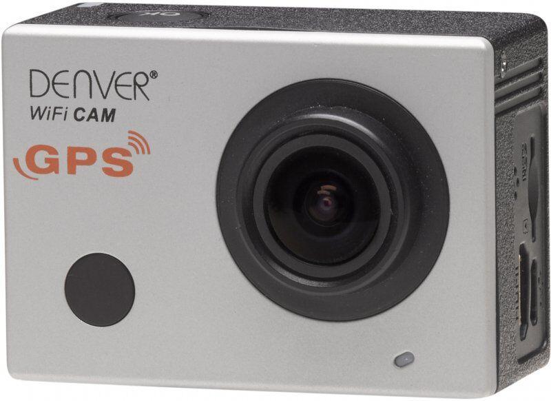 """Denver - Action Kamera Sæt - Fuld Hd - 16mp - 2"""" Skærm - Acg-8050w - Sølv"""