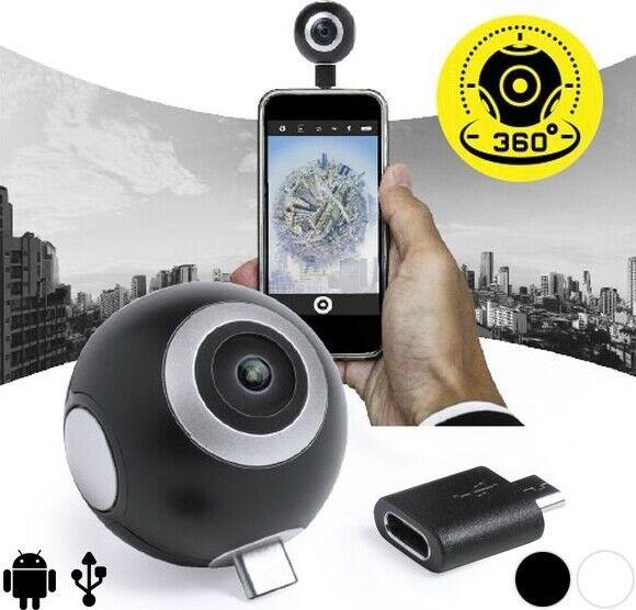 360º Kamera Til Smartphone I Hd - Sort
