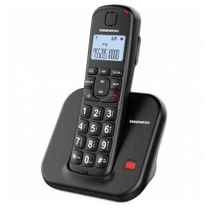 Daewoo - Trådløs Fastnet Telefon - Dtd-7200b - Sort