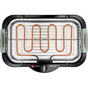 Taurus Maxims - Elektrisk Grill 2000w - Sort