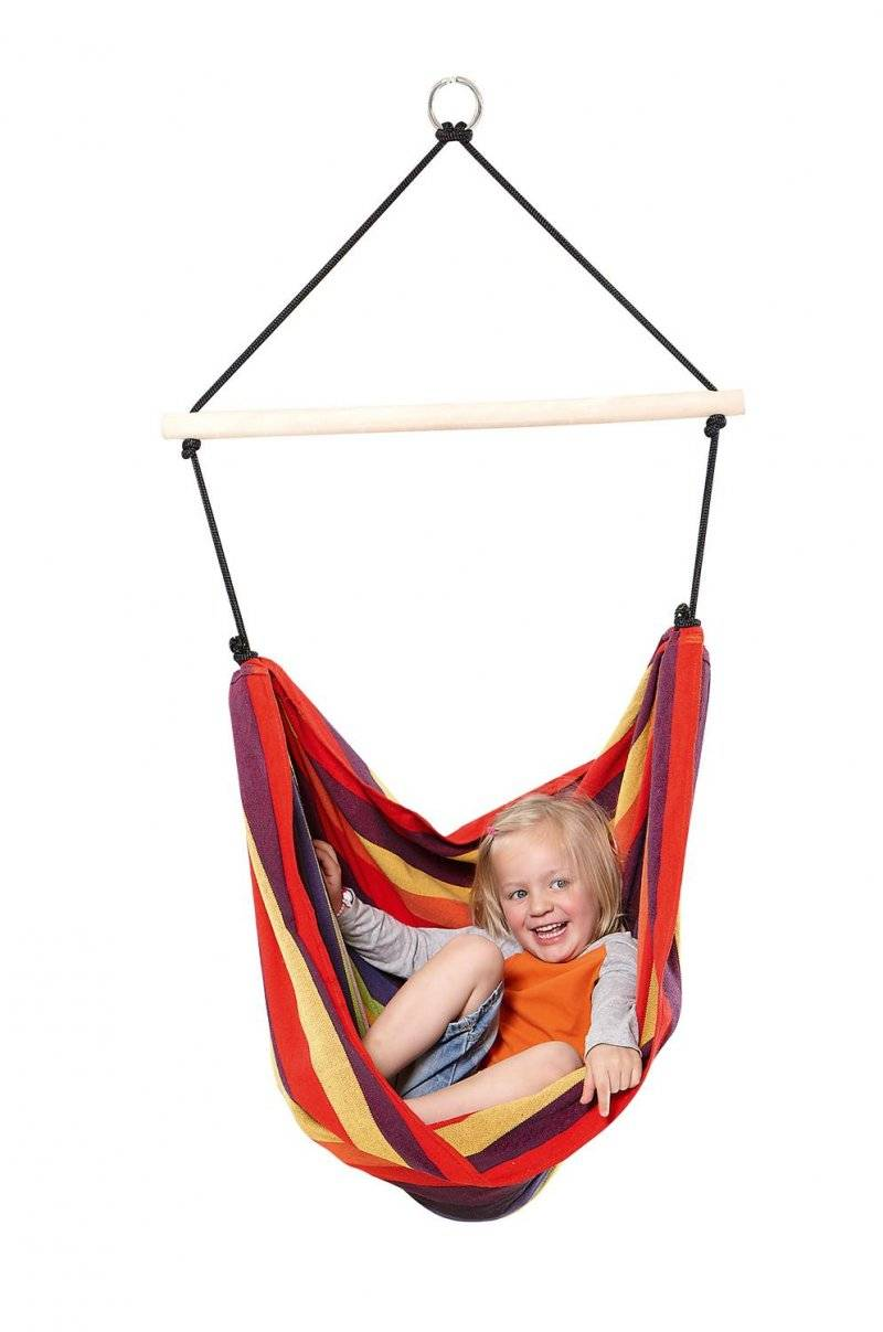 Amazonas Hængestol Til Børn - Kids Relax - Regnbue