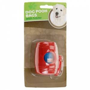 Holder Til Hundeposer Med 15 Poser