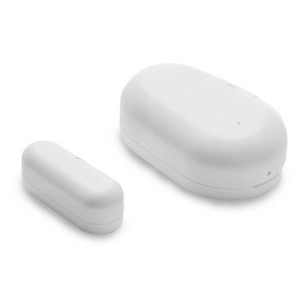 Ksix - Trådløs Sensor Til Døre Og Vinduer - Hvid