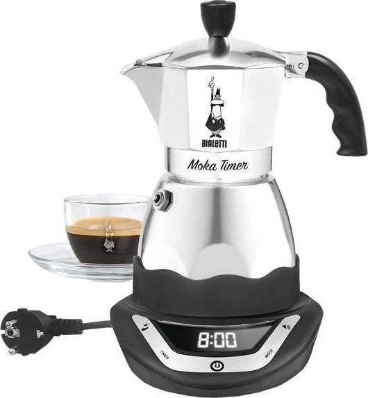 Bialetti Moka Timer - Espressokande - 6 Kopper