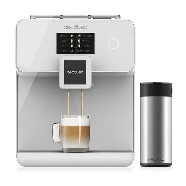 Cecotec - Power Matic-ccino 8000 Touch Kaffemaskine - Hvid
