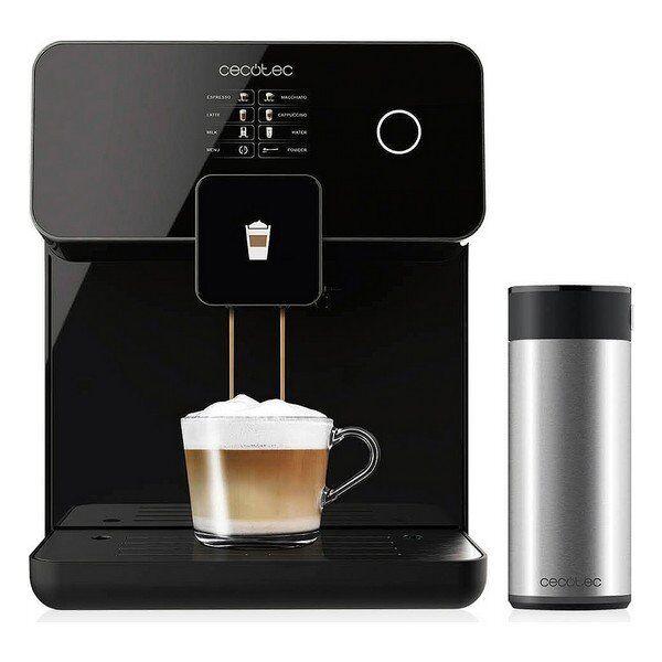 Cecotec - Power Matic-ccino 8000 Touch Kaffemaskine - Sort