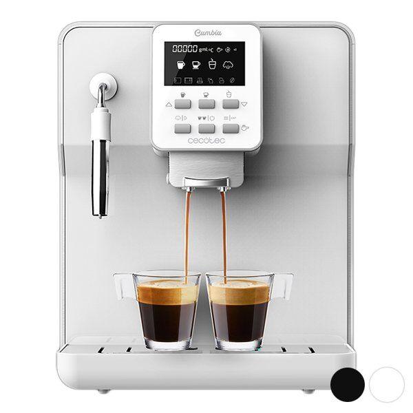 Cecotec - Manuel Espressomaskine - Power Matic-ccino - 1,7l - 1350w - Hvid