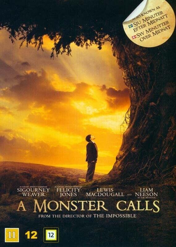 A Monster Calls / Syv Minutter Over Midnat - DVD - Film
