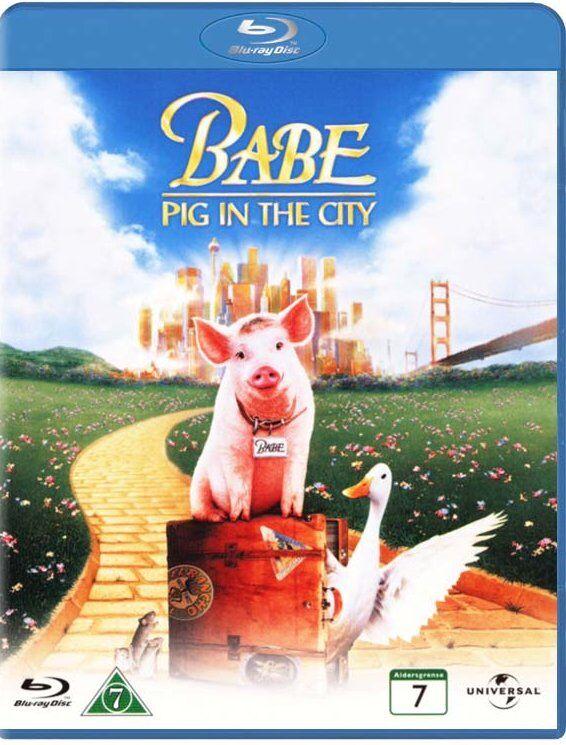 Babe 2 - Pig In The City / Den Kække Gris Kommer Til Byen - Blu-Ray