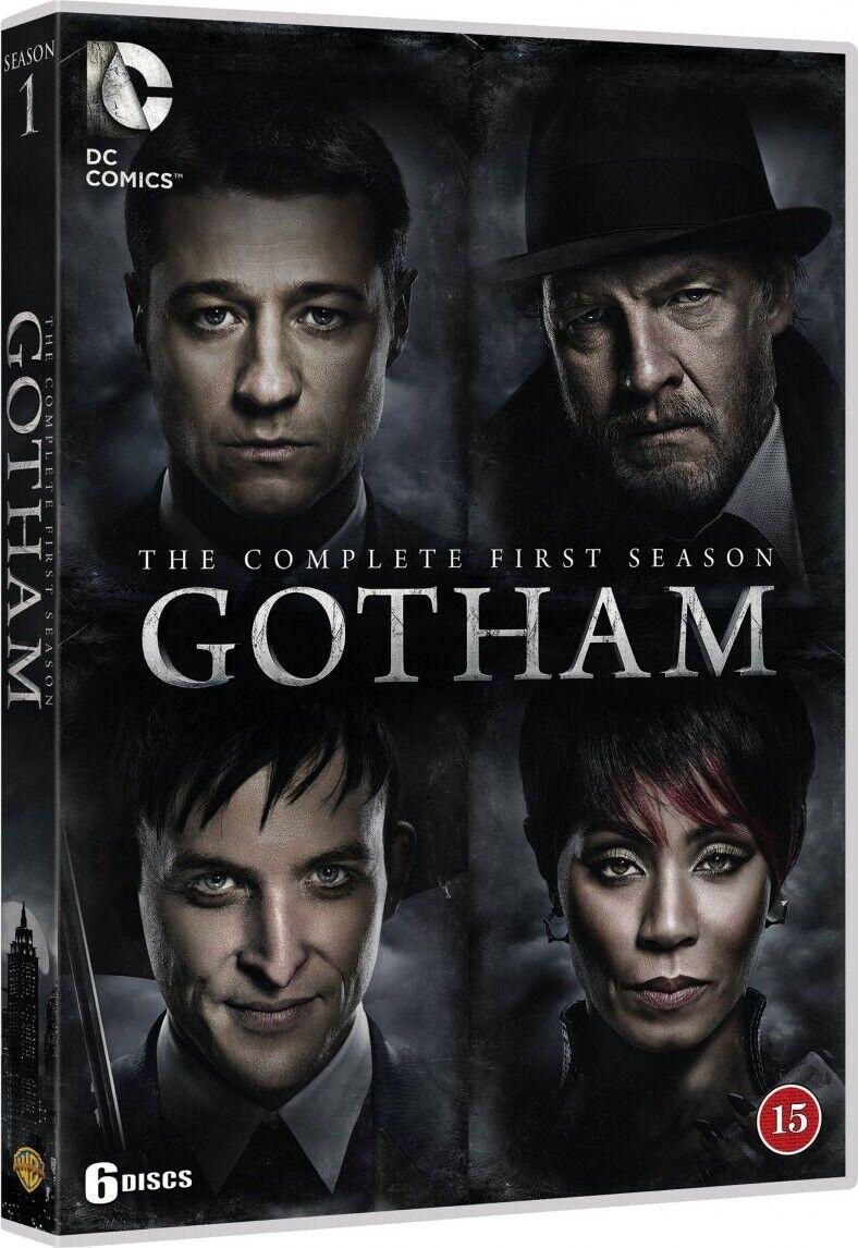 Gotham - Sæson 1 - DVD - Tv-serie