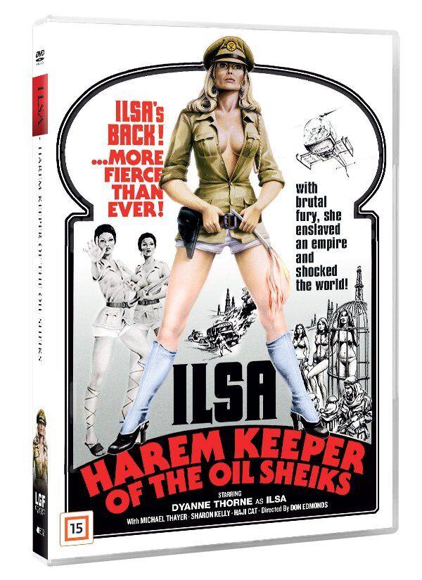 Ilsa : Harem Keeper Of The Oil Sheiks - DVD - Film