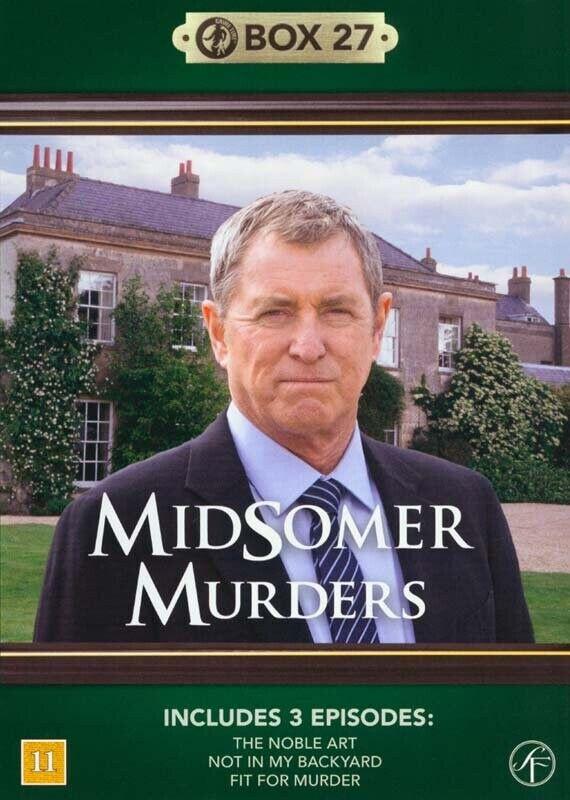 Kriminalkommissær Barnaby / Midsomer Murders - Box 27 - DVD - Tv-serie