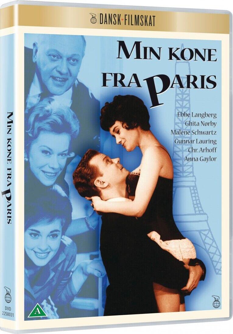 Min Kone Fra Paris - DVD - Film