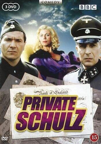 Private Schultz - Komplet Miniserie - DVD - Tv-serie